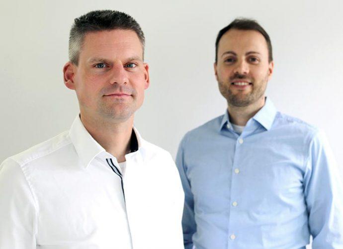 Andreas Scheibe und Christoph Eckstein, die Geschäftsführer der Continu-ING